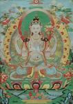 特別展「チベットの美」精緻な織りで描かれたタンカ.jpg